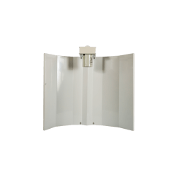White Medium Batwing Reflector