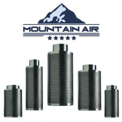 Mountain Air Carbon Filter 150x500mm
